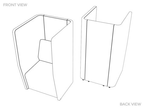 Motion Cape 1-Seater Configuration