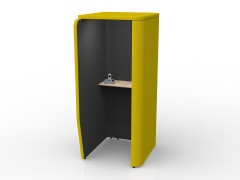 Bumblebee-Charcoal Combo with Beech Worktop (Interior Light not included)