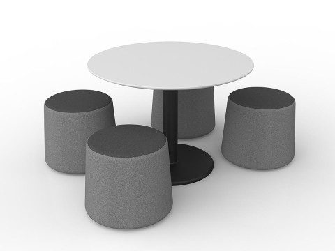Standard Charcoal-Stone Combo (Table not included)