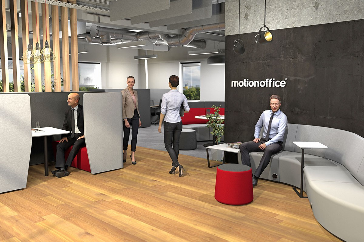 MotionOffice furniture is the perfect solution for implementing an ABW culture.
