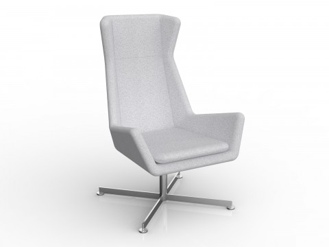 Free Chair in Ash Grey Motion Felt