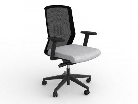 Motion Sync with Armrests & Ash Grey Seat Cover