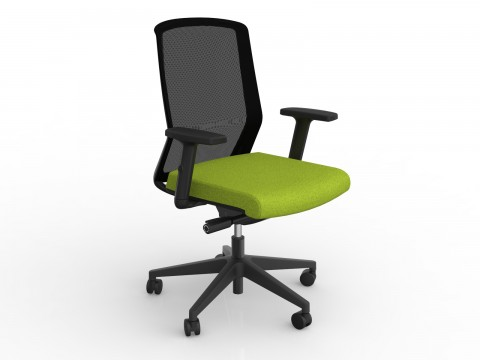 Motion Sync with Armrests & Avocado Green Seat Cover