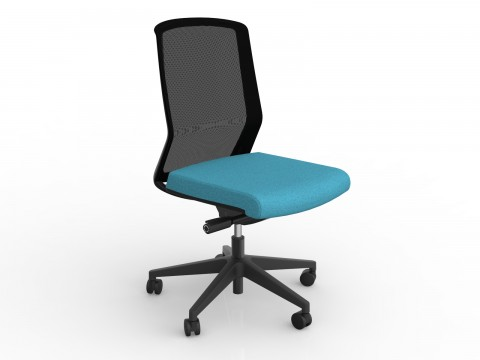 Motion Sync with Ice Blue Seat Cover