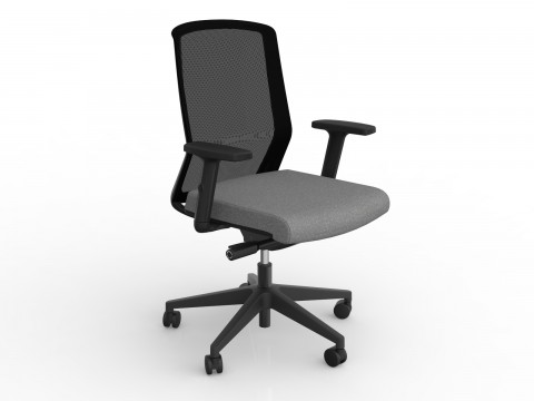Motion Sync with Armrests & Stone Grey Seat Cover